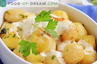 Kartupeļi krējumā - labākās receptes. Kā pareizi un garšīgi pagatavot kartupeļus krējumā.