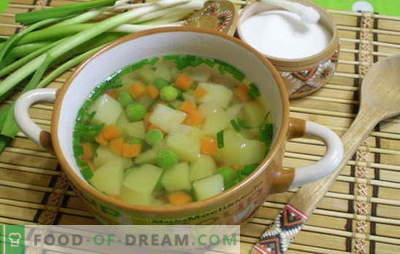 Pašdarināts zupa - 7 labākās receptes. Visas garšīgo mājās gatavotu zupu noslēpumi no pieredzējušiem mājsaimniecēm: zupa, kharčo, borskts, auss, okroshka, hodgepodge