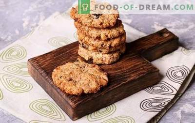 Homemade cookie recipes - quick and tasty! Chocolate, vanilla, nutty, honey and other fast types of cookies