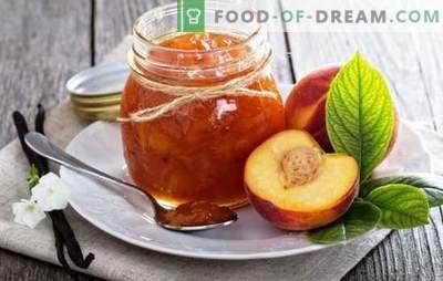 Nektarīnu konservi - vasaras aromātiskā garša. Receptes nektarīna ievārījuma izgatavošanai: tradicionāli, ar kafiju, vaniļu, kanēli