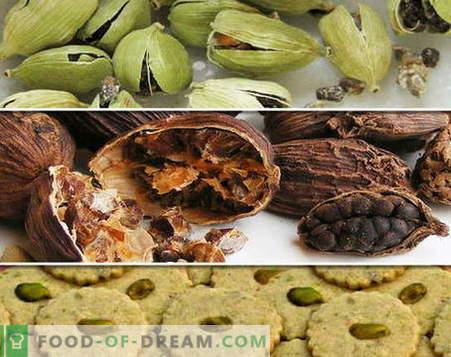 Kardamoms - apraksts, īpašības, izmantošana ēdiena gatavošanā. Receptes ar kardamonu.
