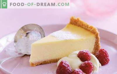 Mascarpone siera kūka - krēmveida aromāts. Receptes vaniļas, biezpiena, zemeņu biezpienmaizei ar mascarpone