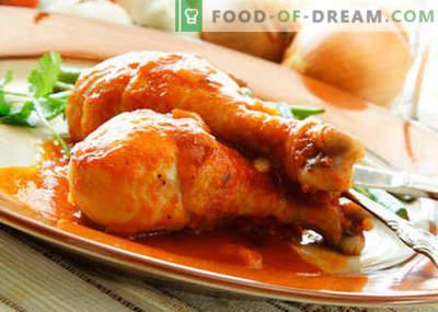 Piščanec z medom - najboljši recepti. Kako pravilno in okusno kuhati piščanca z medom