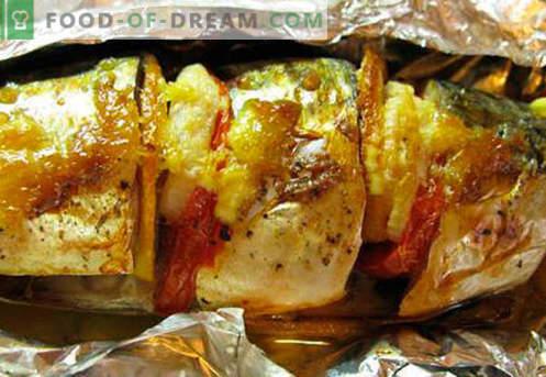 Makrele mit Gemüse - die besten Rezepte. Wie man richtig und lecker Makrele mit Gemüse kocht.