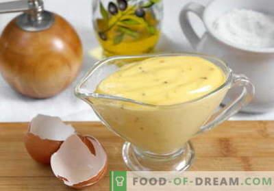 Pašdarināts majonēze - labākās receptes. Kā pareizi un garšīgi pagatavot mājas majonēzi.