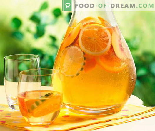 Kompāts no apelsīniem - labākās receptes. Kā pareizi un garšīgi apelsīnu kompots.
