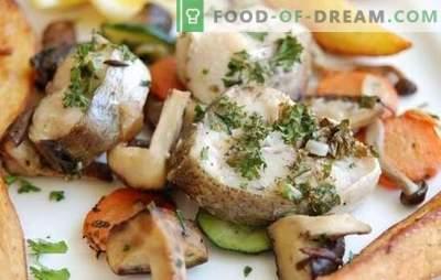 Āķis lēnā plītī - veselīga un garšīga vakariņas. Heka receptes lēnā plītī: sautējums, cep, tvaicēts