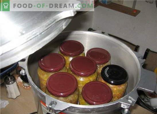 Kā veidot sautējumu mājās: izmantojiet autoklāvu. Virtuves gardu ēdienu gatavošanas trauki autoklāvā