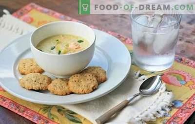Zivju zupa ar krējumu - alternatīva ausīm. Labākās zivju zupas receptes ar laša, makreles, pollaka, foreles un rozā laša krēmu