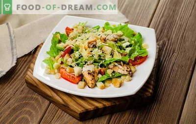 """Garšīgi salāti steigā: vienkāršs nenozīmē """"primitīvu""""! Ātri uzstādot galdu ar gardām salātiem steigā"""