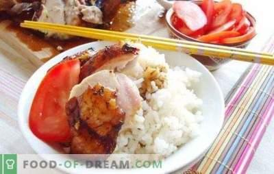 Marināde vistas gaļai ar sojas mērci: maiga gaļa ar austrumu garšu. Vistas marinādes recepte ar sojas mērci un medu, jogurtu, kefīru