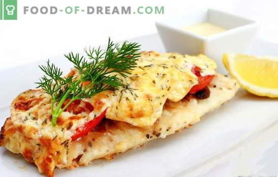 Cepta zivju fileja - gastronomiska eksplozija! Dažādu ceptu zivju fileju receptes: ar dārzeņiem, sēnēm, mērcēm