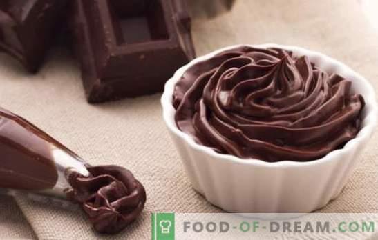 Šokolādes ganache, lai segtu kūku - receptes un ēdienu gatavošanu. Visi šokolādes ganašu kūkas noteikumi un receptes