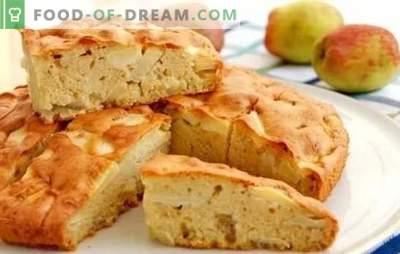 Šarlote krāsnī: solis pa solim ābolu pīrāgs! Klasiskā un cita veida cepumu gatavošana cepeškrāsnī