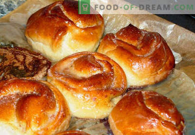 Zoete broodjes zijn de beste recepten. Hoe goed en lekker thuis zoete broodjes te koken