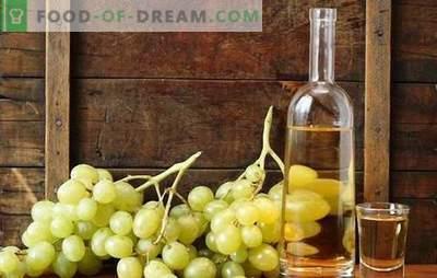 Degvīns uz vīnogām - mājās veidota tinktūras tehnoloģija ar