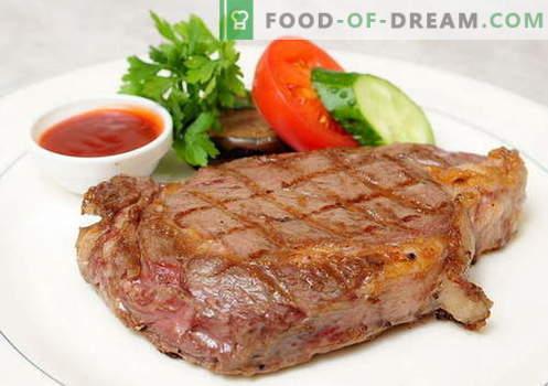 Cerdo frito en la sartén - las mejores recetas. Cómo cocinar correctamente y sabroso el cerdo asado.