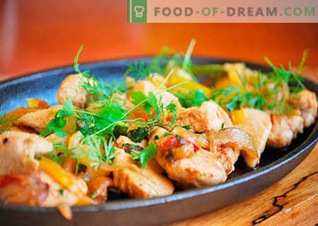 Vistas fileja - labākās receptes. Kā pareizi un garšīgi gatavot vistas fileju.