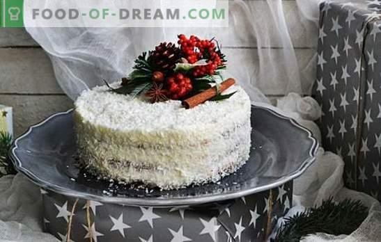 Kokosriekstu kūka - debesu prieks! Dažādas slavenu un jaunu kūkas receptes ar kokosriekstu skaidiņām saldiem zobiem