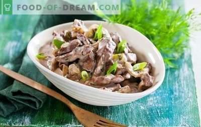 Hígado de res en una olla de cocción lenta: ¡recetas para todos los días! Recetas sencillas, rápidas y sabrosas de carne de vacuno con hígado en una olla de cocción lenta