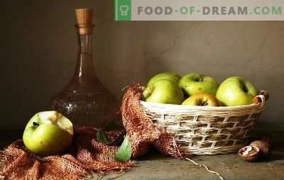 Sezonul Apple - facem un buchet de vin din mere fără presare. Tehnologia vinului de casă din mere fără suc - avantajele și dezavantajele obținerii vinului din meri de mere
