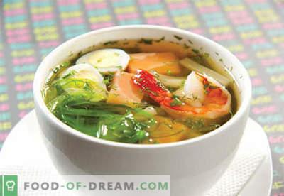 Miso zupas - pārbaudītas receptes. Kā pareizi un vārīt miso zupu.