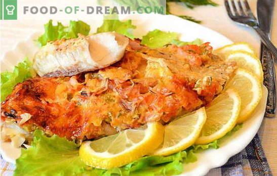 Kuidas küpsetada kalafilee ahjus on maitsev ja lihtne? Valik retsepte kalafileest ahjus: kartuliga, fooliumis, originaal