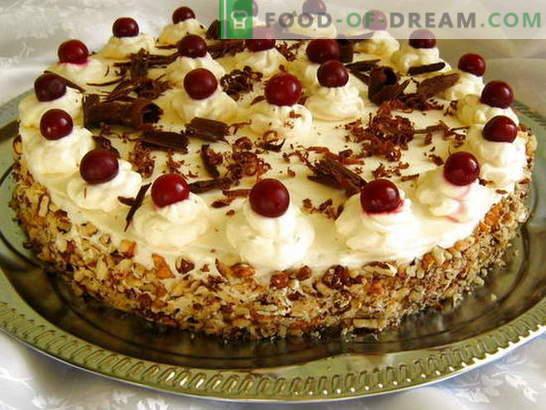 Mēs gatavojam kūku mājās mūsu dzimšanas dienai (foto)! Receptes dažādām mājās gatavotām kūkām ar fotogrāfijām