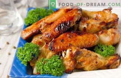 Marinādes vistām - labākās receptes. Kā pagatavot marinādi grilētu vistu un cepeškrāsnī.