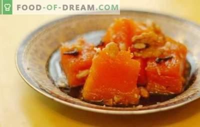 Tvaicēti ķirbji: krāsnī, cepeškrāsnī, multi-plīts, dubultā katls. Tvaicēts ķirbis ar cukuru, medu, ķiplokiem, žāvētām aprikozēm un āboliem