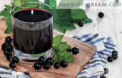 Mors from currants - cook in summer and winter! Recipes of different fruit drinks from currants red, black, frozen and fresh