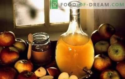 Ābolu sidra etiķis: ēdiena gatavošana mājās. Kāpēc labāk gatavot ābolu sidra etiķi mājās
