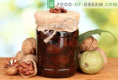 Walnut jam: how to make nut jam correctly