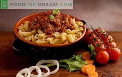 Makaroni ar tomātiem - itāļi to mīl! Pārsteidzoši garšīgi un oriģināli makaronu receptes ar tomātiem
