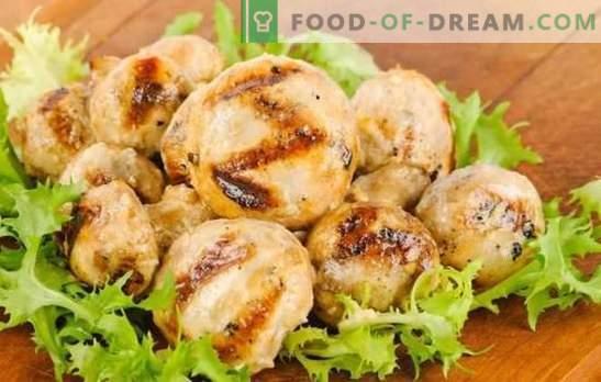 Šampinjoni v majonezi - zabava gob! Kuhanje šampinjonov v majonezi na štedilniku, žaru, pečici in lončkih