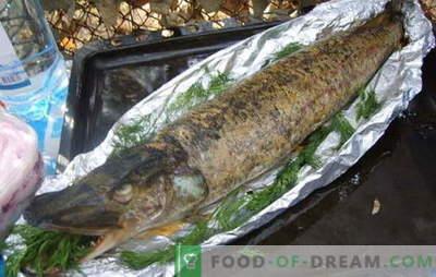 Līdaka krāsnī folijā ir karaļa ēdiens. Kā pagatavot līdakas cepeškrāsnī folijā: ar skābo krējumu, sēnēm, dārzeņiem