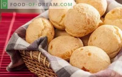 Maizes ar sieru - aromāts būs ikvienam traks! Receptes mājas siera maizītēm ar šķiņķi, desu, ķiplokiem un riekstiem