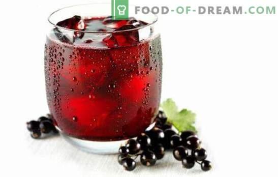 Ābolu sulas - visa vitamīnu armija! Dažādu sulu no sarkano un melno jāņogu receptes