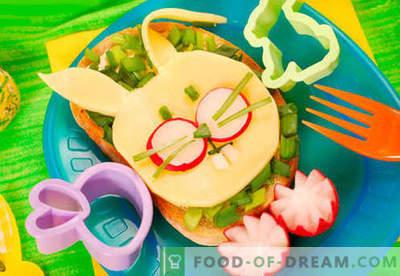 Bērnu sviestmaizes ir labākās receptes. Kā ātri un garšīgi gatavot bērnu sviestmaizes.