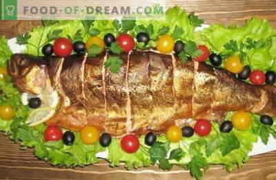 Geräucherter Fisch - die besten Rezepte. Wie man geräucherten Fisch richtig und lecker kocht.