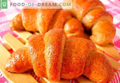 Bagels de levedura (feitos de massa de levedura) são as melhores receitas. Como corretamente e saboroso cozinhar levedura bagels.