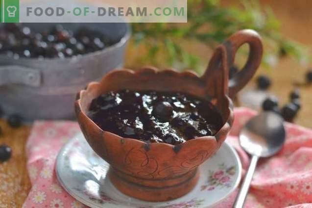 Dżem z czarnej porzeczki - prosty, smaczny, przydatny!