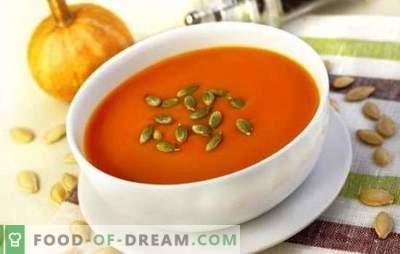 Basic and dessert pumpkin dishes for children. Cooking pumpkin dishes for children from six months