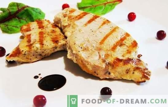 Turcijas steiks var būt sulīgs! Pierādīta tītara steiku receptes ar dārzeņiem, ķiršiem, medu, apelsīniem