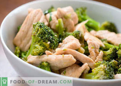 Diētiskās vistas - labākās receptes. Kā pareizi un garšīgi gatavot diētu vistas gaļu.