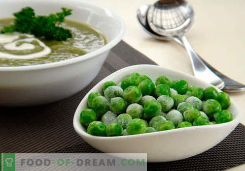 Soup with green peas - proven recipes. How to properly and tasty cook soup with green peas.