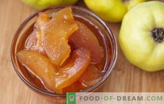 Marmellata di mele cotogne - ottimo gusto! Ricette di diverse confetture di mela cotogna: naturale, con agrumi, mele, noci, miele