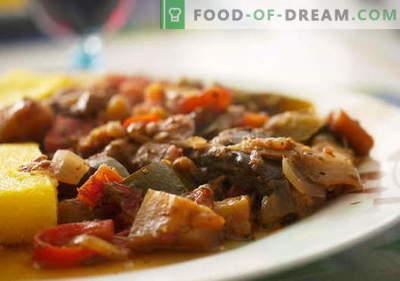 Aubergine met vlees - de beste recepten. Hoe goed en smakelijk aubergine met vlees koken.