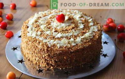 Medus kūka ar kondensēta piena desertu jebkurā gadījumā. Kā cept garšīgu medus kūku ar kondensētu pienu: receptes iesācējiem