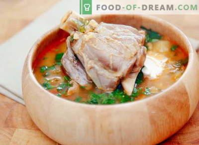 Aitas zupa - labākās receptes. Kā pareizi un garšīgi gatavot jēra zupu.